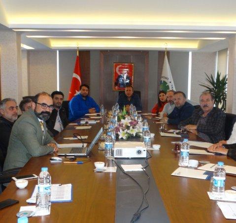 Arsin OSB'de Bilgilendirme Toplantısı